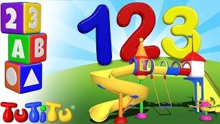 TuTiTu prescolastico   Impara l'inglese   conta fino a 10   123 Terreno di gioco