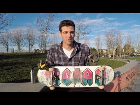 """REAL"" skateboard review!"