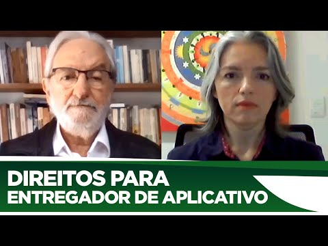 Ivan Valente defende direitos para entregadores de aplicativos durante pandemia - 19/06/20