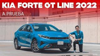 KIA Forte GT Line 2022, a prueba: Lo mejor del equipo para el Forte, pero con motor atmosférico