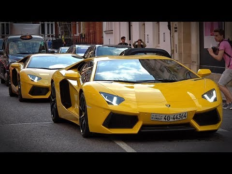 Supercars in London July 2018 - CSATW #27