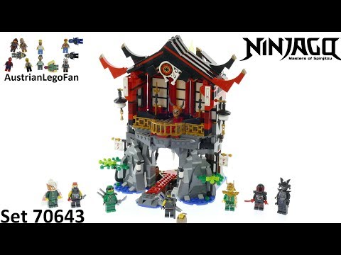 Vidéo LEGO Ninjago 70643 : Le temple de la Renaissance