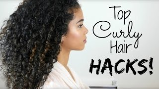 My Top Curly Hair Hacks (Tips & Tricks)
