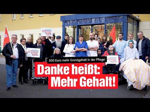 Unterzeichne unseren Aufruf: Entschlossen und solidarisch gegen den Pflegenotstand!