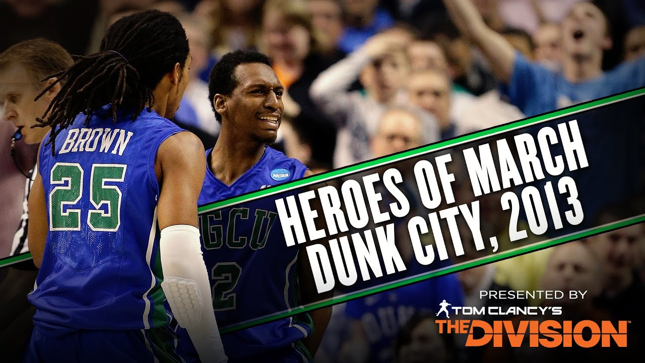 Florida Gulf Coast made history by putting Dunk City on the map thumbnail