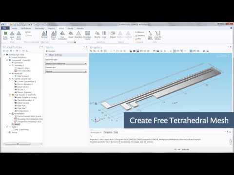 Meshing Basics in COMSOL Multiphysics (5/8) - YouTube