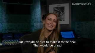 Interview with Anouk (The Netherlands) 2013 Eurovision Song Contest