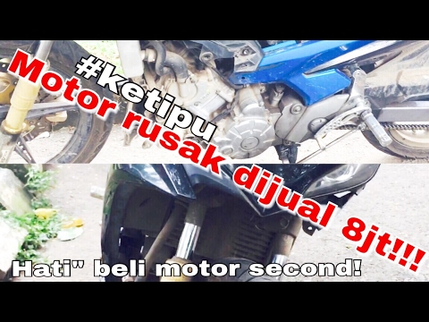 Video HATI-HATI membeli MOTOR SECOND,  New Jupiter MX 135cc CLD C3