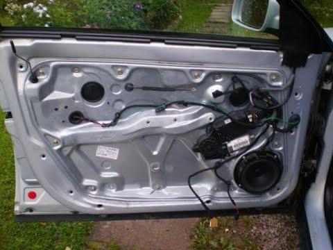 Ремонт Volkswagen Passat B5! Как разобрать  двери и ремонт замка
