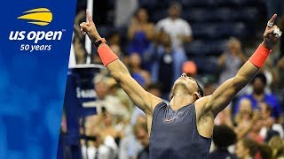 2018 US Open: Top Memorable Winning Reactions