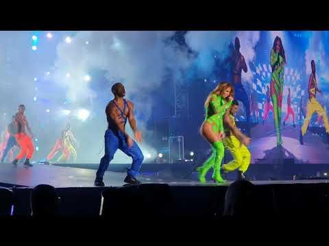 Jennifer Lopez JLO, live in Israel 2019, Tel Aviv, Part 15, Get on the floor 4K quality!
