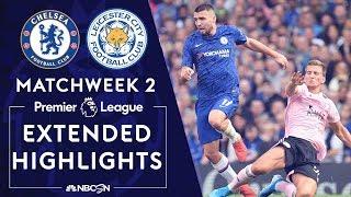 Chelsea v. Leicester City   PREMIER LEAGUE HIGHLIGHTS   8/18/19   NBC Sports