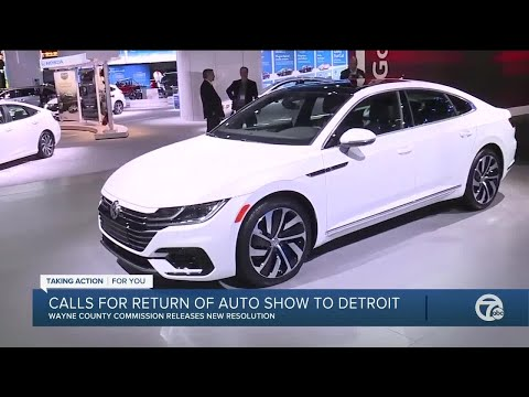 Wayne County Commission wants Auto show back in Detroit