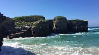 Spaniens Nordküste am Praia das Illas