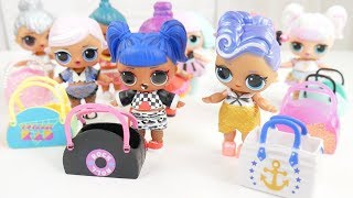 LOL Surprise New Bhaddie Family Lost Sisters with Barbie Furniture Goldie