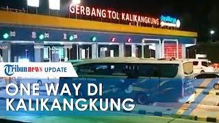 TRIBUNNEWS UPDATE: Puncak Arus Balik Lebaran 2019, Sistem One Way di Kalikangkung Diperpanjang