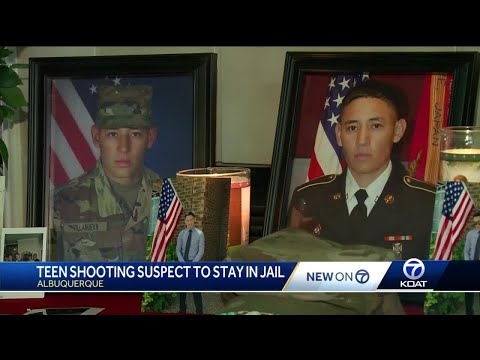 Family members of murdered soldier come face to face with teen suspect