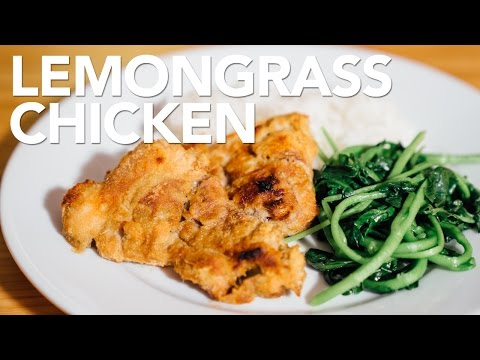 LEMONGRASS CHICKEN | ASIAN RECIPE