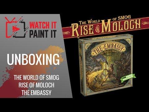 The World of SMOG : Rise of Moloch - The Embassy - Unboxing