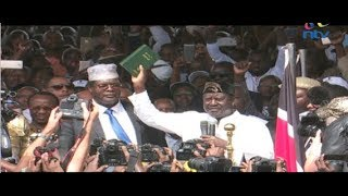 Revealed: How Raila oath plan fell apart