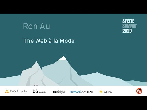 Image thumbnail for talk Web à la Mode
