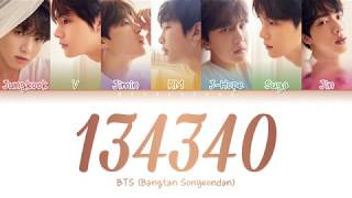 BTS (방탄소년단)   134340 (PLUTO) (Color Coded LyricsHanRomEng)