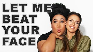 I Traded Makeup Looks With Patrick Starrr! | Jessica Alba