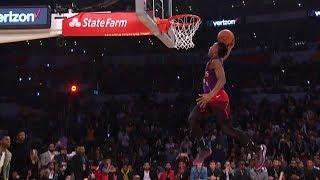2018 NBA Slam Dunk Contest Highlights   NBA All-Star Weekend