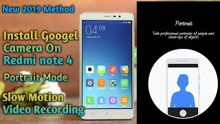 google camera for redmi note 4