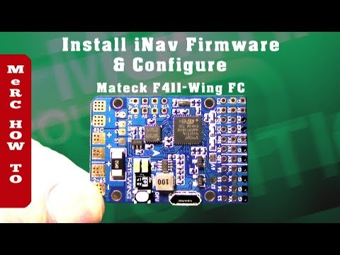 matek-f411-wing-flight-controller--inav-firmware--configuration-rc-airplane-setup-full-flash