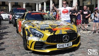 AND WE'RE OFF! Gumball 3000 2018 Starts in London