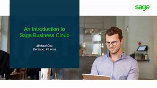 Vidéo de Sage Business Cloud Accounting