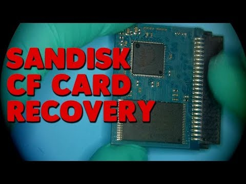 Sandisk Extreme 16GB CF card data recovery