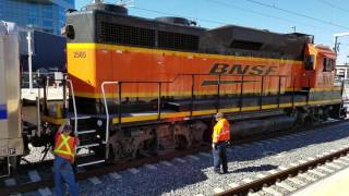 BNSF disconnects from RTDC triple married pair