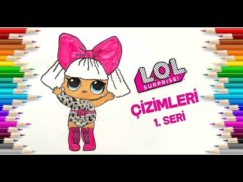 Download Glitter Diva Lol Bebek Boyama Simli Lol Baby Painting