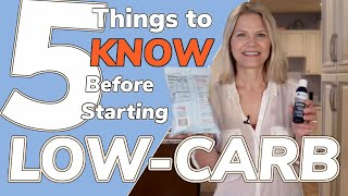 5 Things to Know Before Starting a Low-Carb Diet