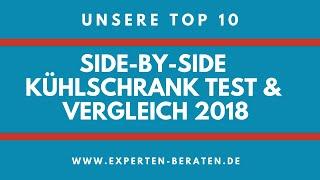 ᐅ Side-by-Side-Kühlschrank Vergleich & Test - Unsere 10 Top