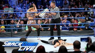 Carmella attempts to cash in her Money in the Bank on Charlotte Flair: SmackDown LIVE, Jan. 30, 2018