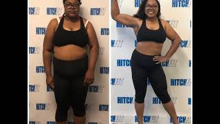 55 pound weight loss at Hitch Fit Gym Kansas City