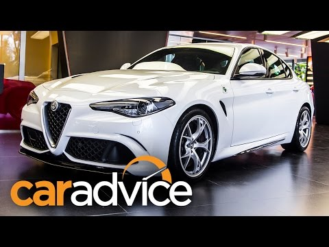 2016 Alfa Romeo Giulia First Look : Walkaround