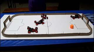 Remote Control Super Cars play Football