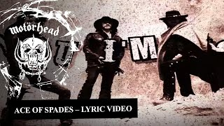 Motörhead - Ace Of Spades (Lyrics)
