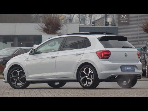Volkswagen NEW Polo R-Line 2020 in 4K White Silver 17 inch Bonneville walk around & detail inside