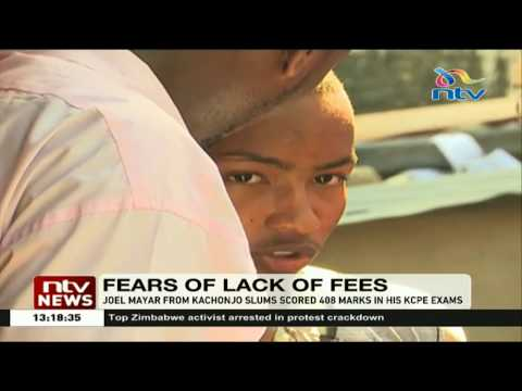 16 year old Mombasa boy fears missing a spot at Kakamega High School due to lack of fees