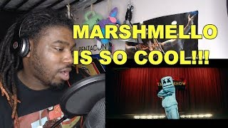 Marshmello   Tell Me [REACTION!!!]