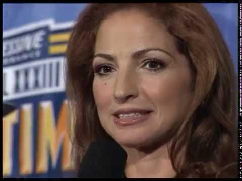 Gloria Estefan video Entrevista y conferencia de prensa  - Miami 1999