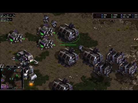 Flash (T) v Hero (Z) on Fighting Spirit - StarCraft  - Brood War REMASTERED