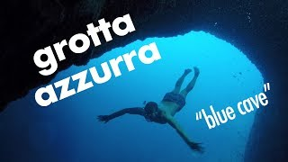 Capri, Italy MUST-DO: Swim Grotta Azzurra, Blue Cave