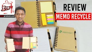 Souvenir Memo Recycle / Memo daur Ulang 905 Review by zeropromosi.com