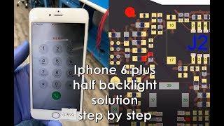 Download Iphone 6s Plus Half Backlight Repair Dim Screen